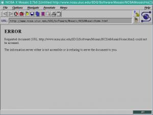 Mosaic Web Browser